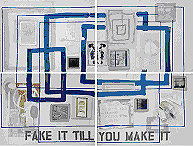Birgitte Moos - Fake it Till You Make it, 2009